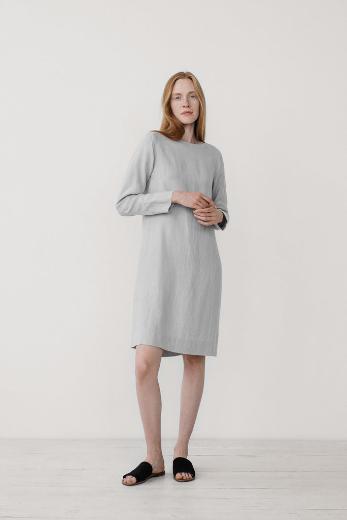 Elsa dress in bluish gray - Ode to Sunday