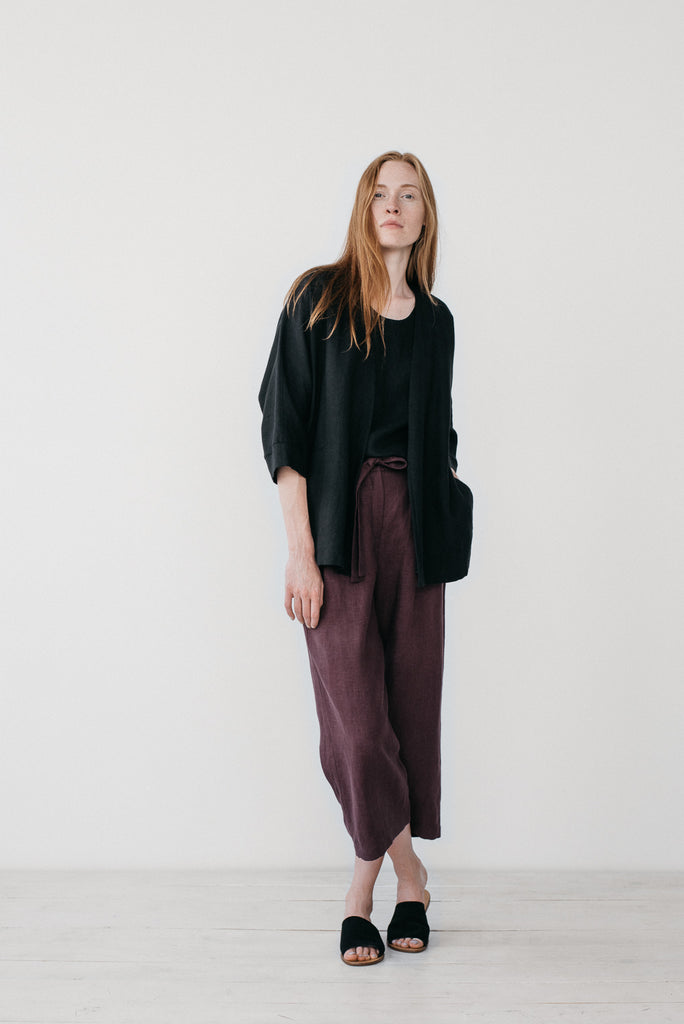 Erin kimono jacket in black - Ode to Sunday