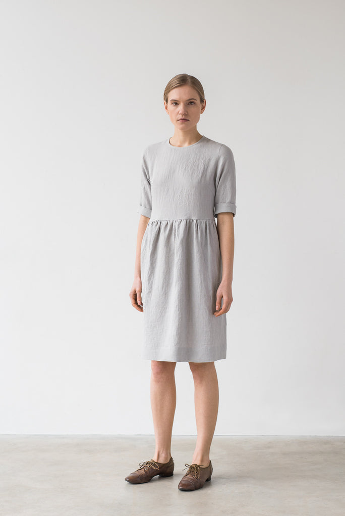 Colette dress in bluish gray - Ode to Sunday