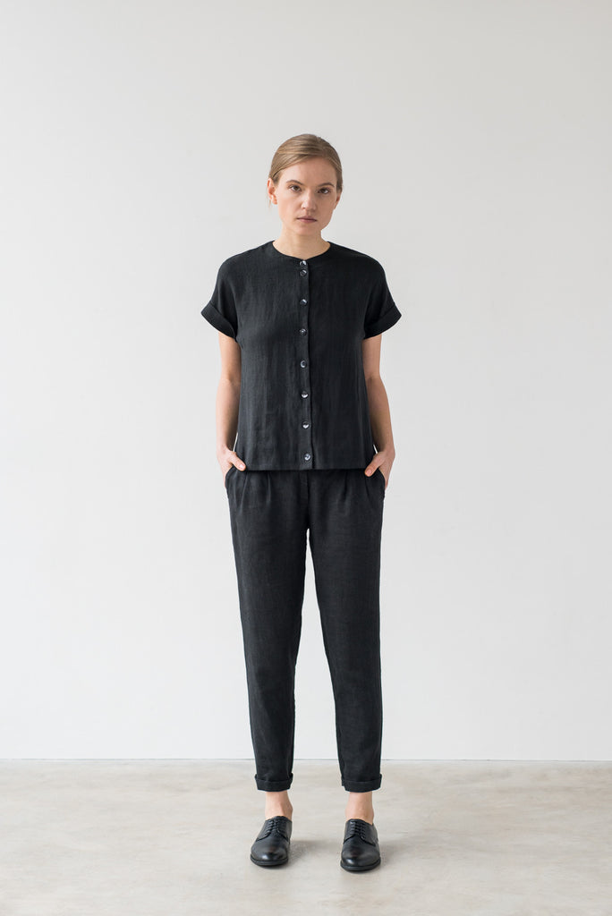 Yasmin blouse in black - Ode to Sunday