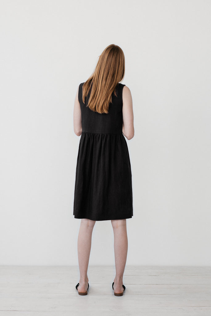 Helena dress in black - Ode to Sunday