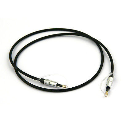 FiiO L12 3.5mm To 3.5mm Mini-TOSlink Optical Cable (80cm Long) - AV Shop UK - 1