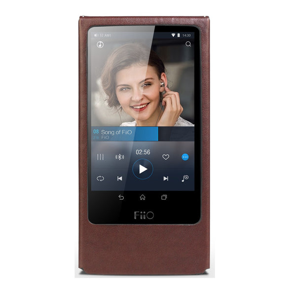 FiiO LC-X7a Faux Leather Case for FiiO X7 - AV Shop UK - 1