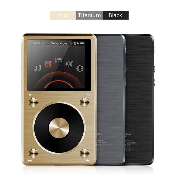FiiO X5/X5ii Second Generation Lossless (FLAC/WAV/MP3) Audio Player and DAC - AV Shop UK - 1