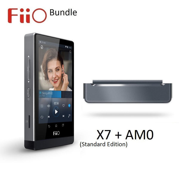 FiiO X7 (Standard Edition) Android Lossless (FLAC/MP3/DXD/PCM) DAP/DAC + AM0 USB Module BUNDLE - AV Shop UK - 1