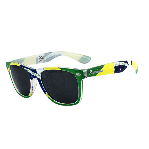 Brazil Flag Sunglasses - Rave Nations