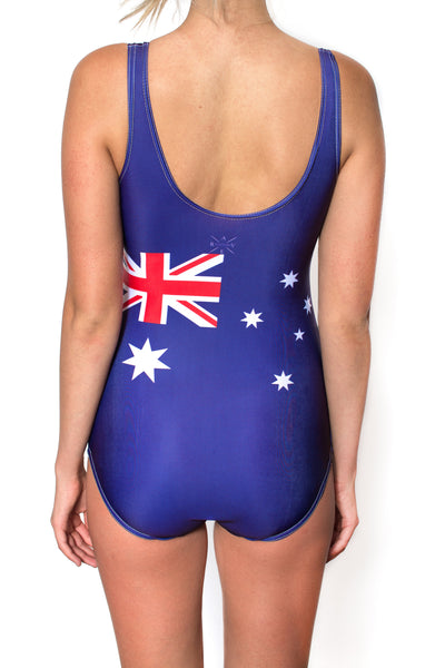 Australia Flag One Piece Bodysuit Women's - Rave Nations