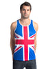 United Kingdom Flag Tank Top Men's - Rave Nations