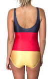 Germany Flag One Piece Bodysuit Women's - Rave Nations