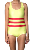 Vietnam Flag One Piece Bodysuit Women's - Rave Nations