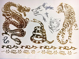 Inner Animal Collection - Metallic Tattoos - Rave Nations