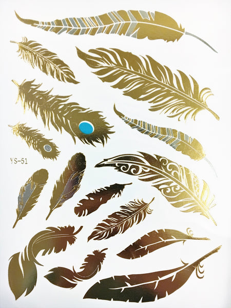 Forest Collection - Metallic Tattoos - Rave Nations