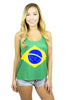 Brazil Flag Tank Top Women's - Rave Nations