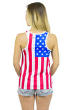 USA Flag Tank Top Women's - Rave Nations