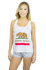 California Flag Tank Top Women's - Rave Nations