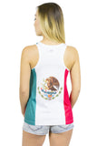 Mexico Flag Tank Top Women's - Rave Nations