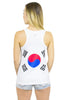 South Korea Flag Tank Top Women's - Rave Nations