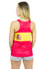 Spain Flag Tank Top Women's - Rave Nations
