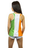 Ireland Flag Tank Top Women's - Rave Nations