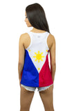 Philippines Flag Tank Top Women's - Rave Nations