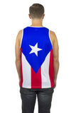 Puerto Rico Flag Tank Top Men's - Rave Nations