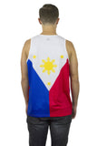 Philippines Flag Tank Top Men's - Rave Nations