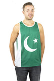 Pakistan Flag Tank Top Men's - Rave Nations