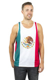 Mexico Flag Tank Top Men's - Rave Nations