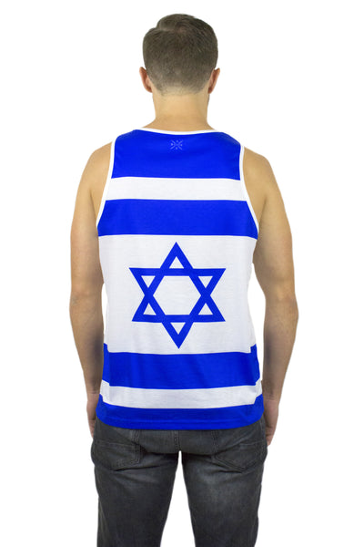 Israel Flag Tank Top Men's - Rave Nations