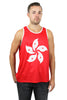 Hong Kong Flag Tank Top Men's - Rave Nations