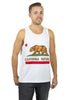 California Flag Tank Top Men's - Rave Nations