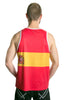 Spain Flag Tank Top Men's - Rave Nations