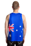 Australia Flag Tank Top Men's - Rave Nations