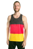 Germany Flag Tank Top Men's - Rave Nations