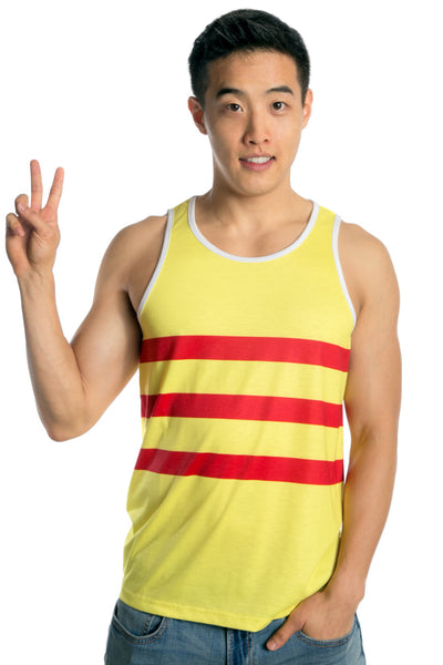 Vietnam Flag Tank Top Men's - Rave Nations