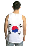South Korea Flag Tank Top Men's - Rave Nations