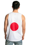 Japan Flag Tank Top Men's - Rave Nations