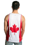 Canada Flag Tank Top Men's - Rave Nations