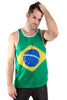 Brazil Flag Tank Top Men's - Rave Nations