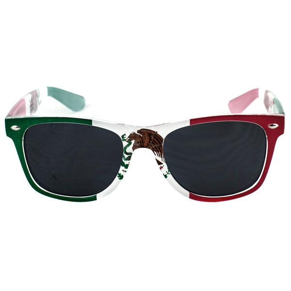 Mexico Flag Sunglasses - Rave Nations