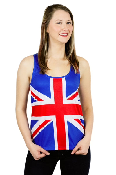 United Kingdom Flag Tank Top Women's - Rave Nations