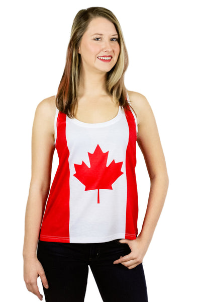 Canada Flag Tank Top Women's - Rave Nations