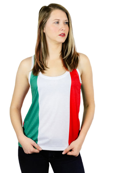 Italy Flag Tank Top Women's - Rave Nations