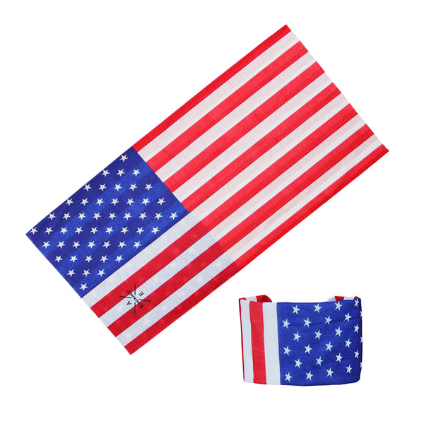 USA Seamless Bandana Mask