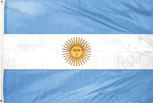 Argentina 3 x 5 ft Flag - Rave Nations