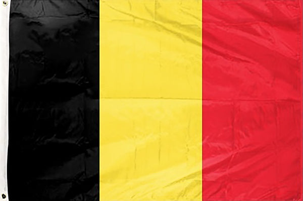 Belgium 3 x 5 ft Flag - Rave Nations