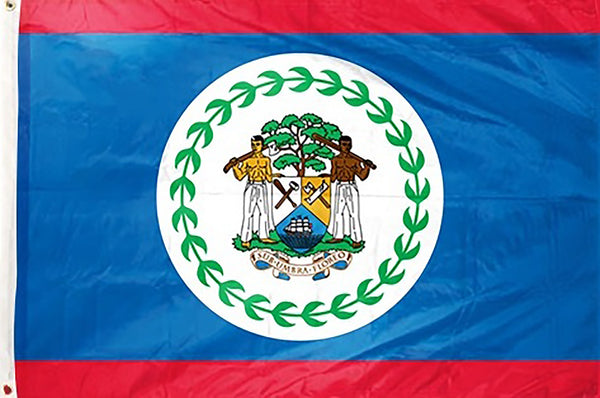 Belize 3 x 5 ft Flag - Rave Nations