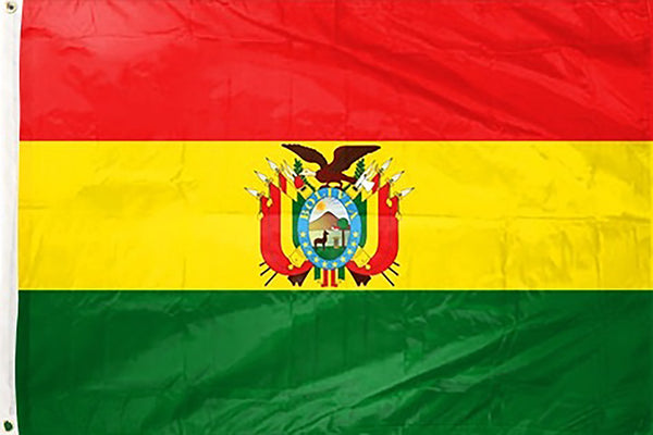 Bolivia 3 x 5 ft Flag - Rave Nations