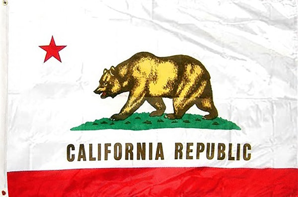 California 3 x 5 ft Flag - Rave Nations