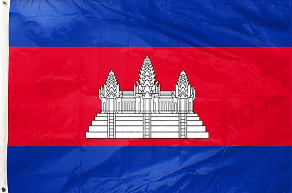 Cambodia 3 x 5 ft Flag - Rave Nations